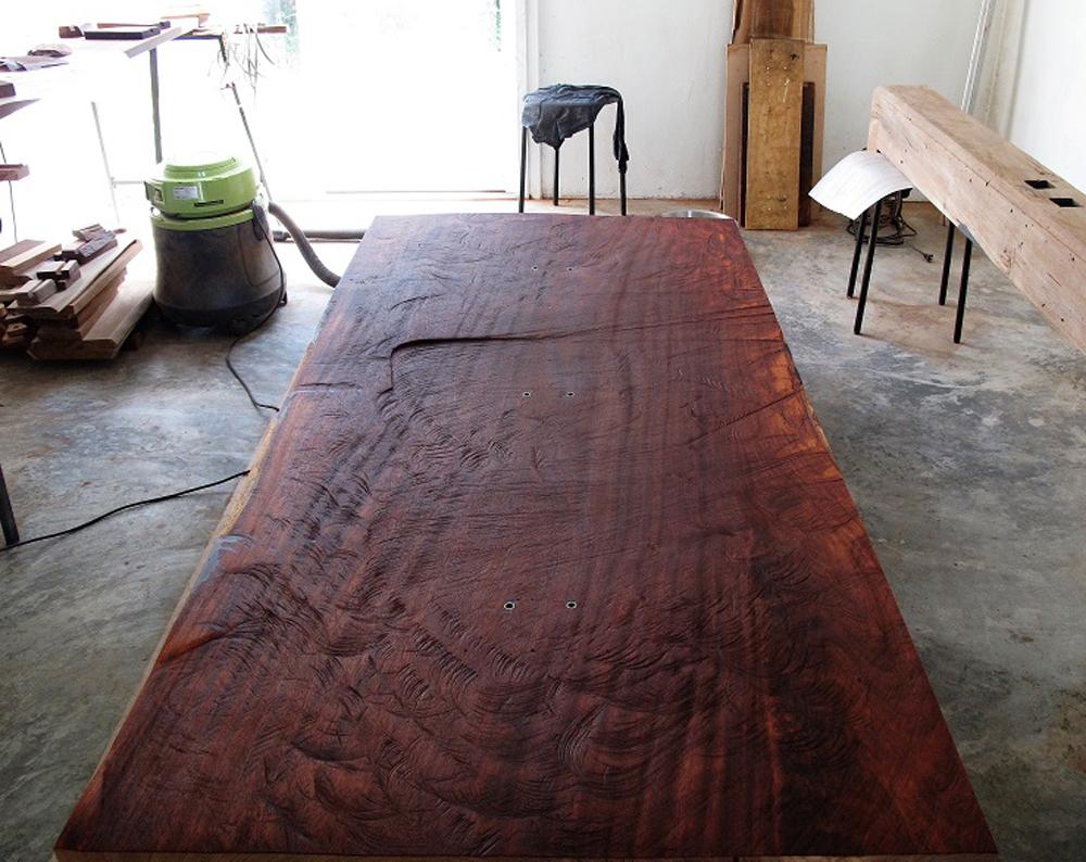 Furniture Maker Faisal Malik Design Equatorial Star Map Table - Star map maker
