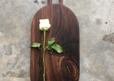 Walnut U Handle Board