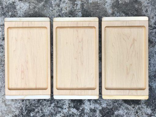 Valet Tray Hard Maple