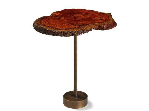 Amboyna Burl Side Table – USD 550